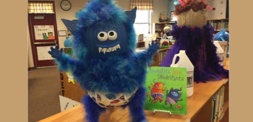 "Bookworms uses library books like ""Monsters in underpants"" for curriculum"