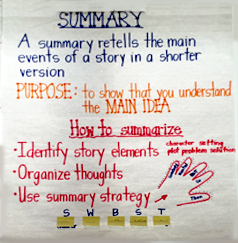 Display board demonstrating strategy